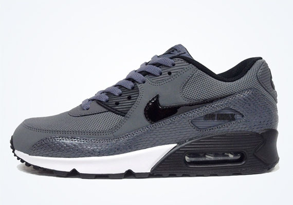 all grey nike air max 90s women's
