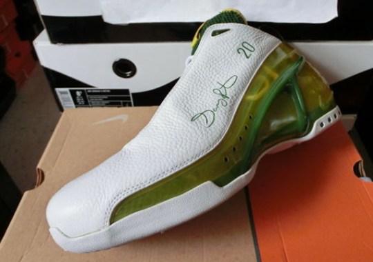 "Nike Zoom Ultraflight ""Supersonics Home"" PE for Gary Payton"