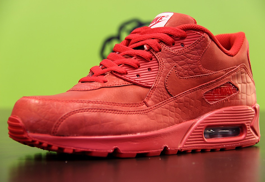 "on sale 24ce9 aeb89 A Look at NIKEiD Air Max 90 ""Croc"" and ""Snake"" Options"