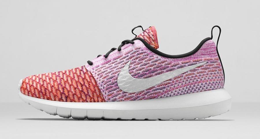 "Nike Flyknit Roshe Run ""Random Yarn Color"" – Release Date"