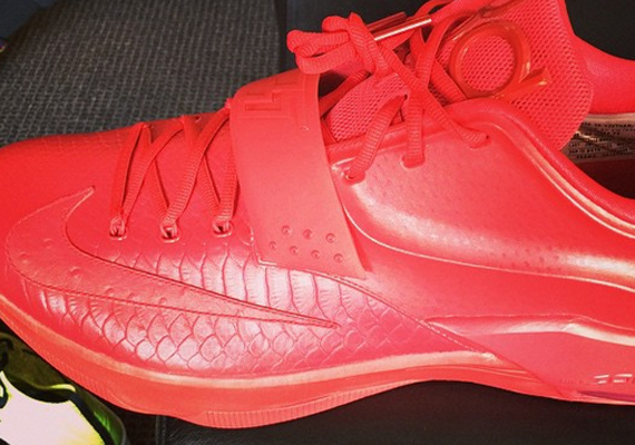 """new styles 0bc35 ea4ce Nike KD 7 """"Red Python"""""""
