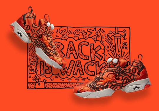 """Keith Haring x Reebok Classic """"Crack is Wack"""" Collection"""