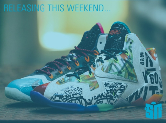 Sneakers Releasing This Weekend – September 13th, 2014