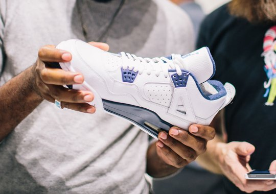 Sights From The Jordan Brand Retro Remaster Showcase