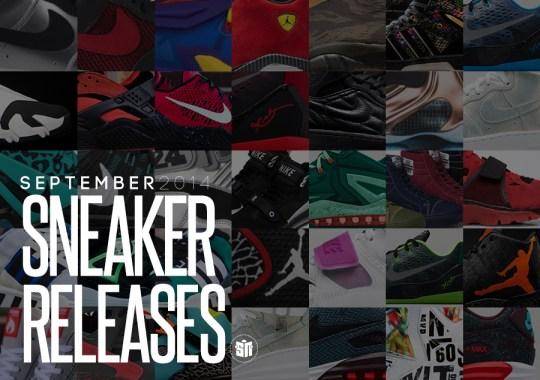 September 2014 Sneaker Releases