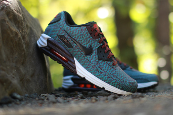 sports shoes fcd0d 9f0b6 Nike Air Max Lunar90 Premium Color Deep BurgundyBlack-Hyper  Jade-Challenge Red Style Code 705068-600. Release Date 092714. Price  140 Available on ...