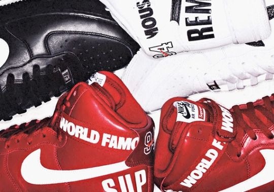 Supreme x Nike Air Force 1 High 20th Anniversary – Release Date