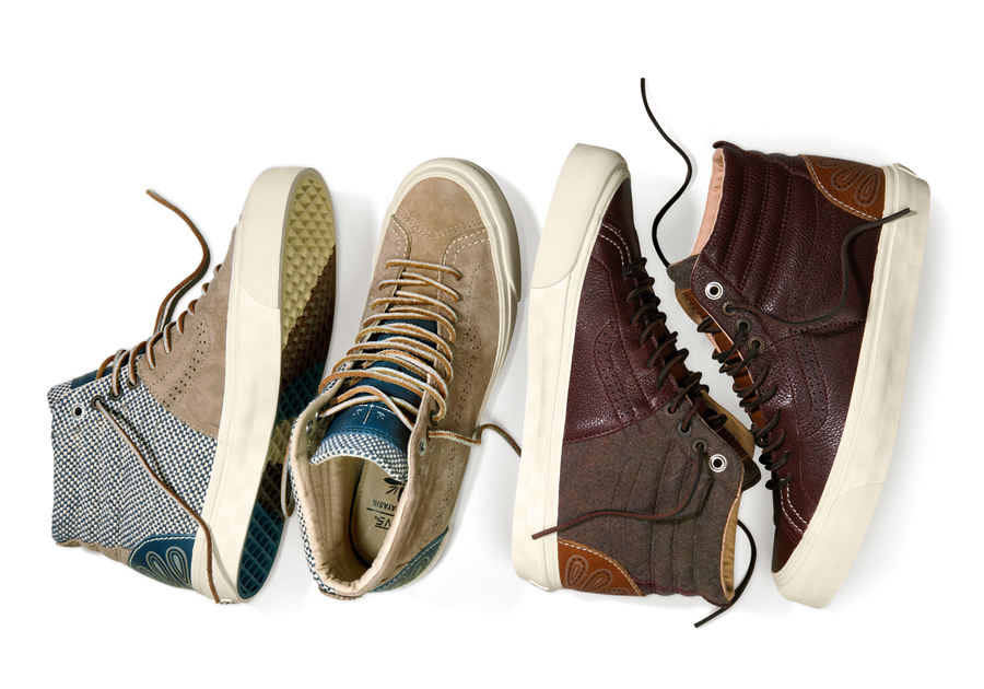 ded4cdd218 Taka Hayashi x Vans Vault Holiday 2014 Collection - SneakerNews.com