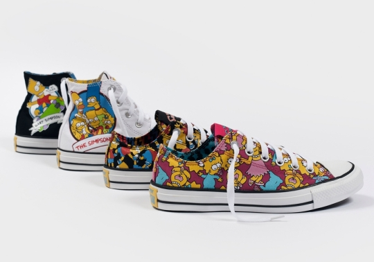 The Simpsons x Converse – Fall/Winter 2014 Collection