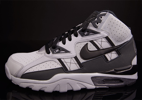 premium selection cf8b0 767a2 Nike Air Trainer SC High – Wolf Grey – Anthracite – Black