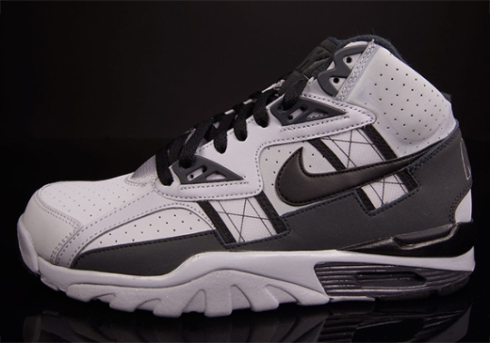 Nike Air Trainer SC High – Wolf Grey – Anthracite – Black
