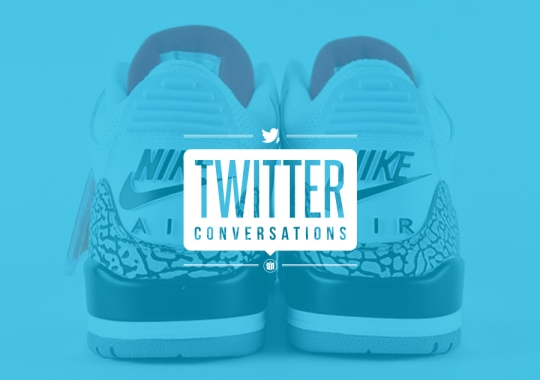Twitter Conversations: What Do You Think About the Air Jordan 3 Retro Hiatus?