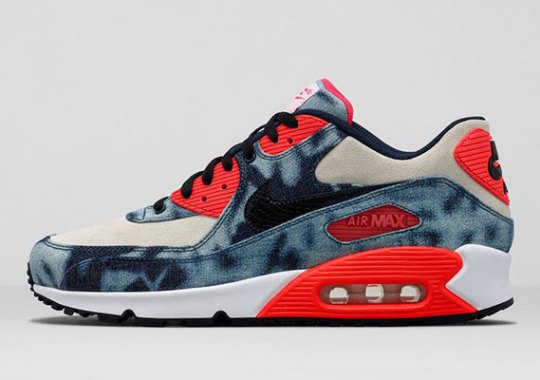 """Nike Air Max 90 """"Infrared Washed Denim"""" – Release Info"""