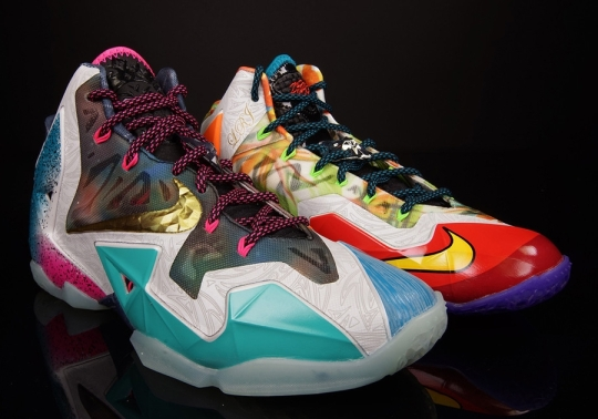 """The Nike """"What The LeBron"""" 11 is Not As Limited As You Think"""