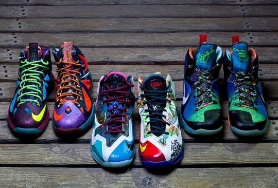 """The Nike """"What The LeBron"""" Trilogy"""