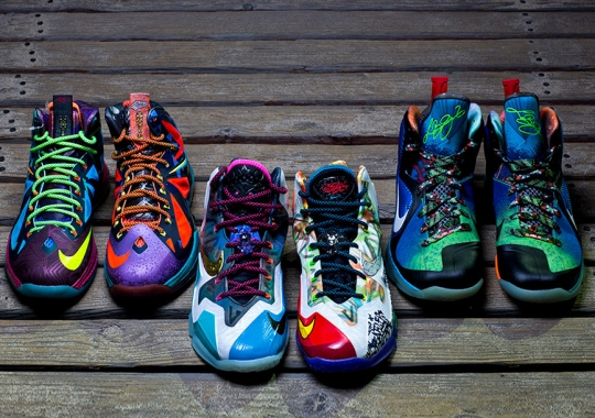 "The Nike ""What The LeBron"" Trilogy"