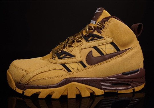 """Nike Air Trainer SC High Sneakerboot """"Wheat"""" – Available"""