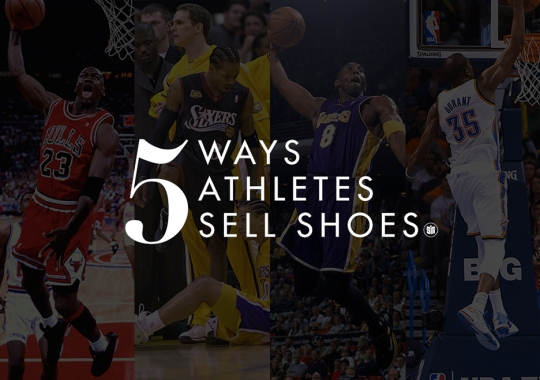 Five Ways Signature Athletes Sell Shoes