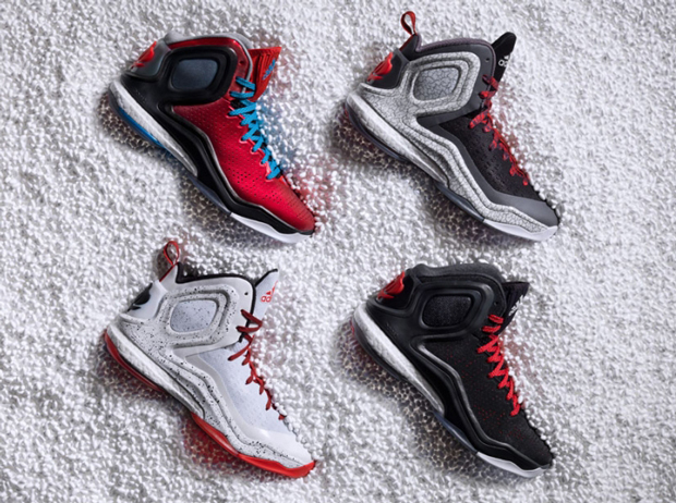 adidas d rose colorways