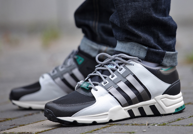 finest selection 28145 3aab8 adidas Originals EQT Support '93 - Core Black - Solid Grey ...