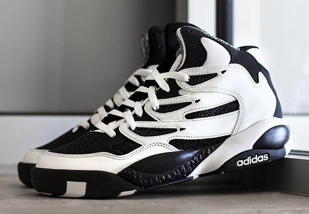 1748c4a63ecde6 adidas Originals Mutombo 2 - White - Black - SneakerNews.com