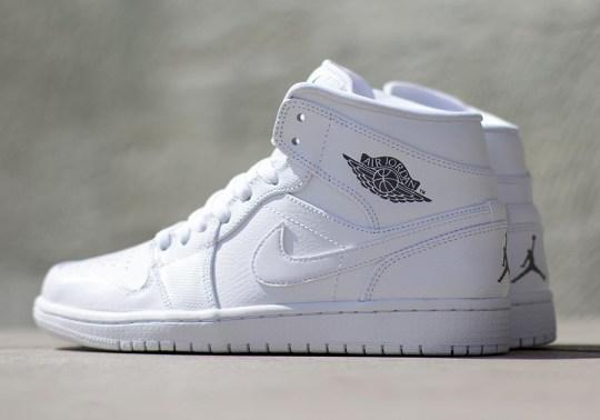 Air Jordan 1 Mid – White – Cool Grey
