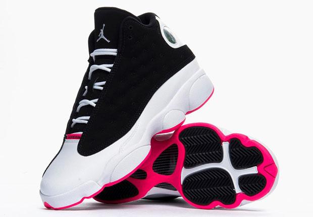 air jordan 13 white and black