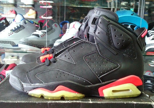 "A Look at an Original Air Jordan 6 ""Infrared"" from 1991"