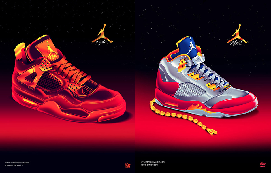 Air Jordan Artwork Inspired By Movie Posters by Romain Trystram -  SneakerNews.com 92e152823aaf