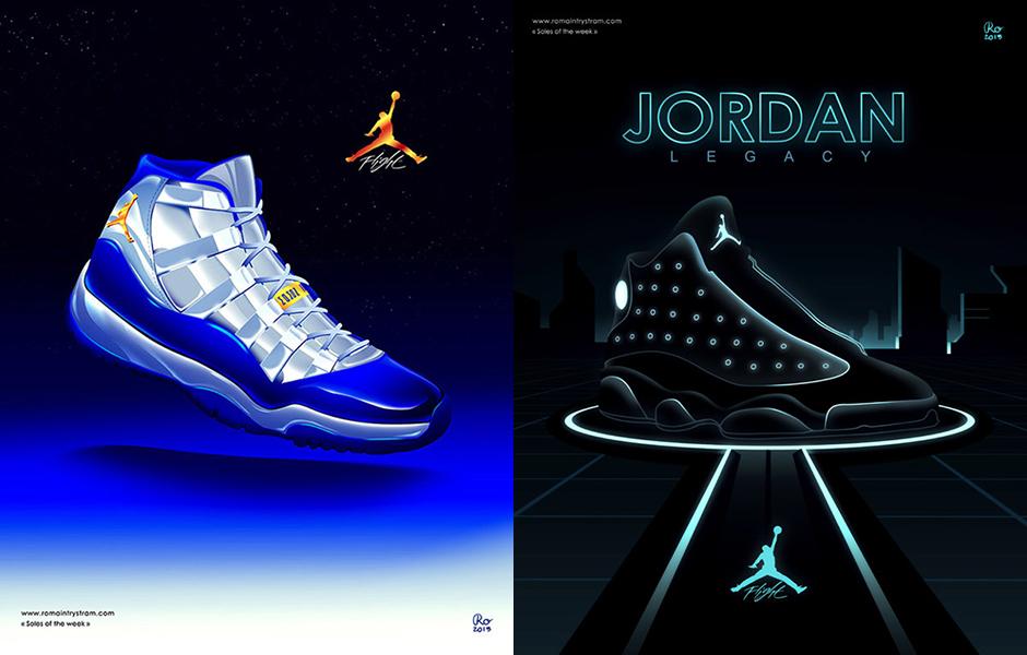 Air Jordan Shoe Poster