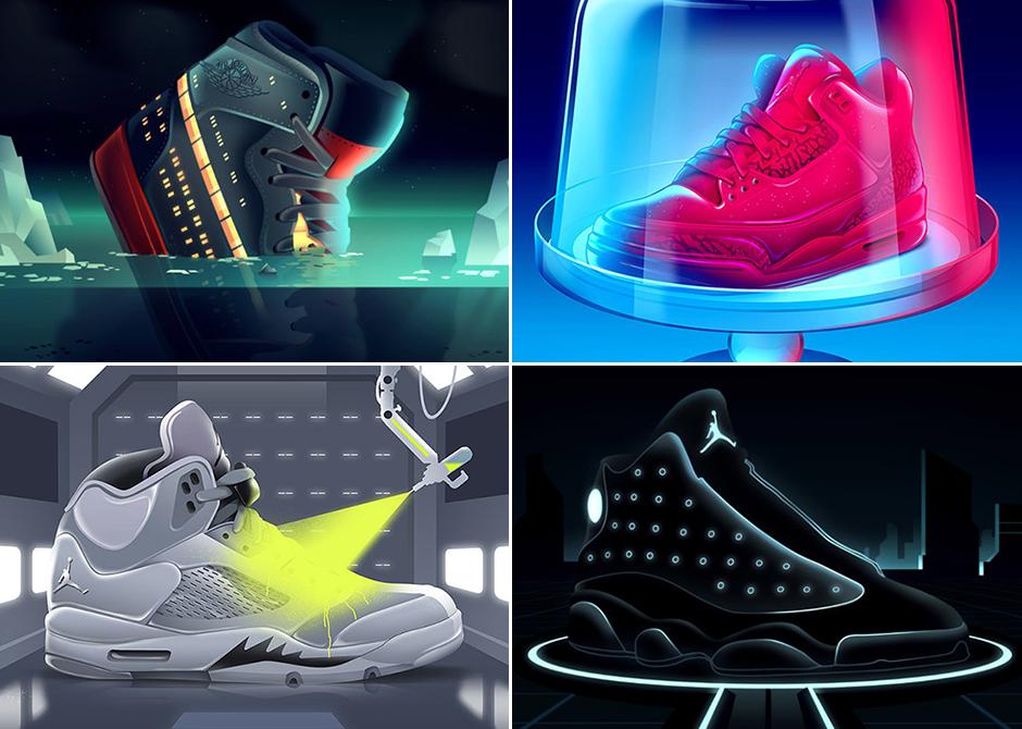 Air Jordan Artwork Inspired By Movie Posters by Romain