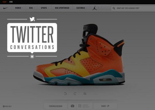 Twitter Conversations: Air Jordan Retros on NIKEiD