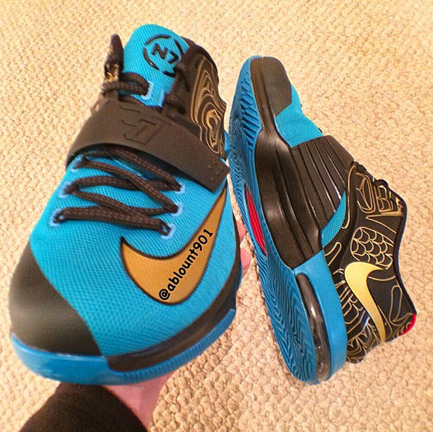 "newest 21069 2fc0d Another Look at the Nike KD 7 ""N7"""