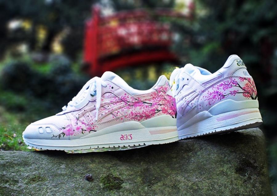 "Asics Gel Lyte III ""Sakura"" Customs by Rudnes"