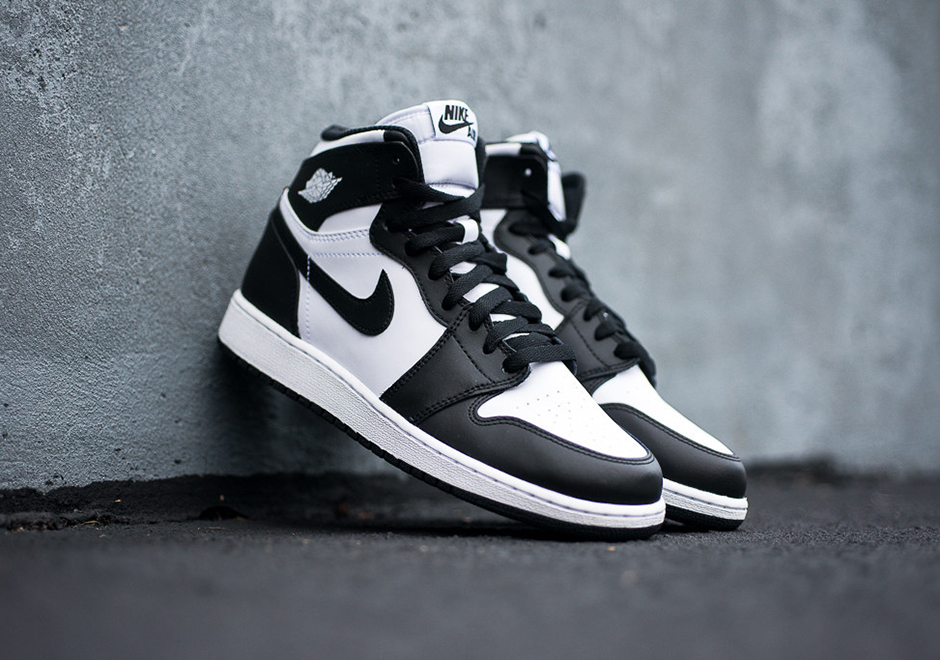 buy online ba5a5 60ea5 Air Jordan 1 Retro High OG GS