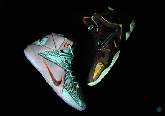 Comparing The Finer Details of the Nike LeBron 11 & 12