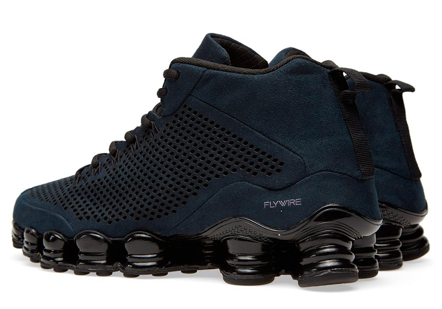 """A Detailed Look at the Nike Shox TL Mid SP """"Black ... Kanye West Shoes"""