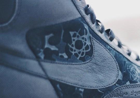U.N.K.L.E. x MoWax x Nike Blazer Hi Sample