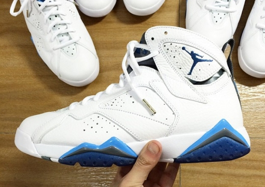 "Air Jordan 7 ""French Blue"" – Release Date"