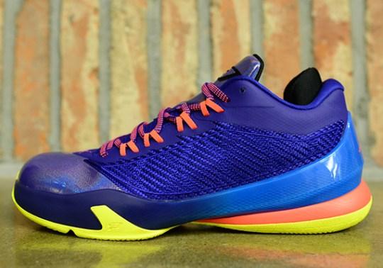 Jordan CP3.VIII – Purple – Blue – Yellow