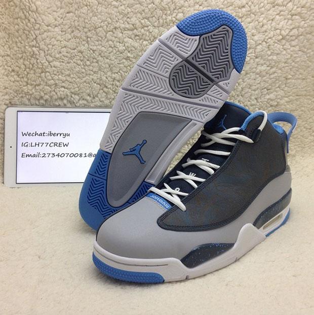Jordan Dub Zero Grey Black Blue Sneakernews Com
