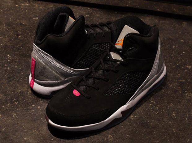 5399dbf01868 Jordan Future Flight Remix – Black – Wolf Grey – Fusion Pink – Electro  Orange