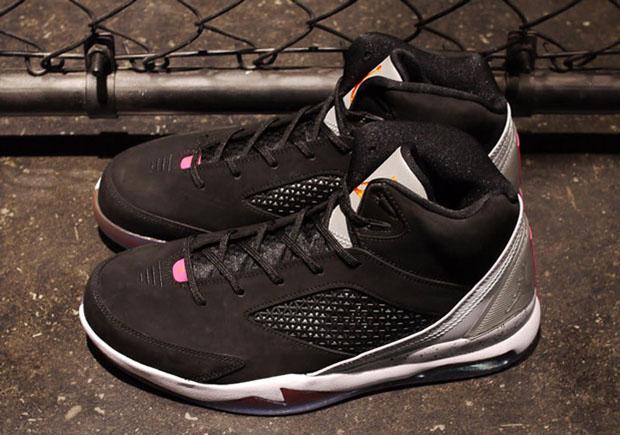 2d091ee28e6e6f cheap Jordan Future Flight Remix Black Wolf Grey Fusion Pink Electro Orange