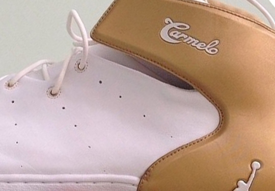 Jordan Melo 1.5 – White – Gold