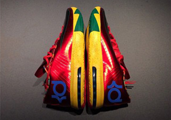"""664277561d0b A Kevin Durant alter ego of old is paid tribute to on this Nike KD 6  """"Velvet Hoop"""" pair. These aren t releasing – the Nike KD VI is obviously in  the ..."""