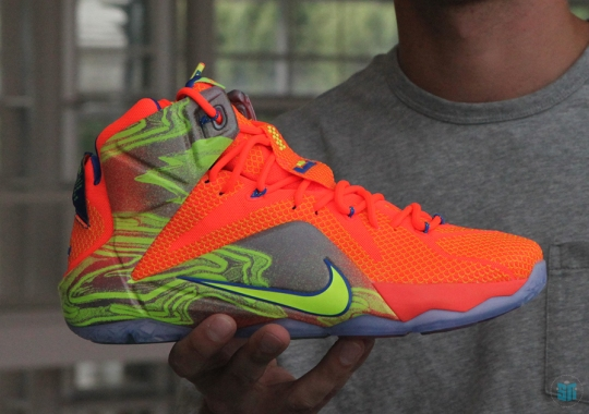 "Monday Night Preview: Nike LeBron 12 ""Six Meridians"""