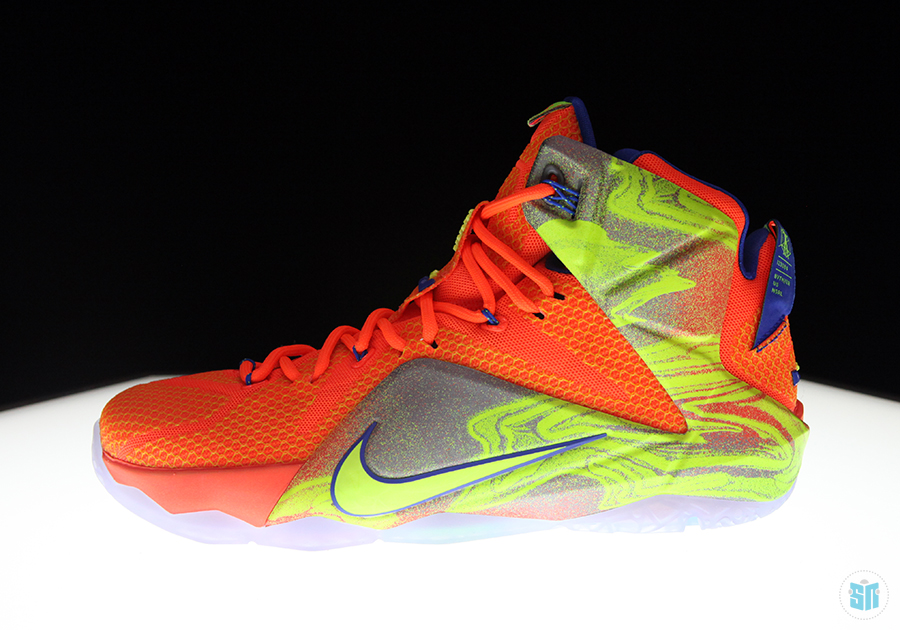 """quality design 60cef 54fac Monday Night Preview Nike LeBron 12 """"Six Meridians"""" ..."""