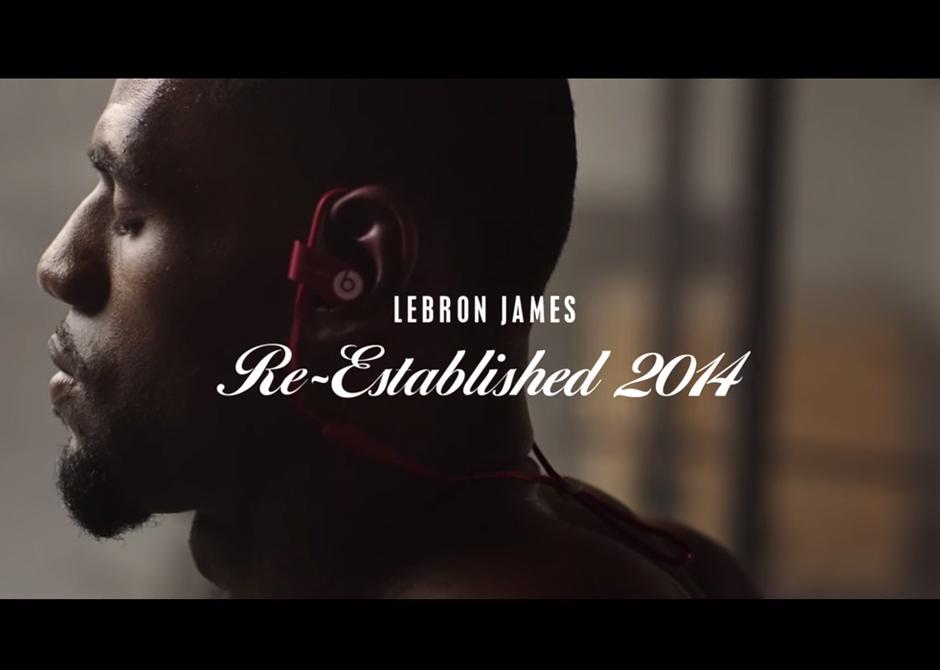 9c34f9ca6cf LeBron James in Beats By Dre quotRe-Established 2014quot Commercial delicate