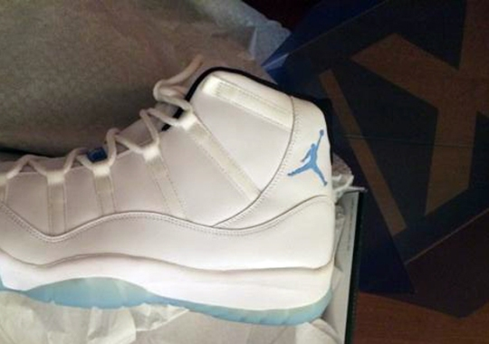"Jared Sullinger Shows Off Air Jordan 11 ""Legend Blue"""