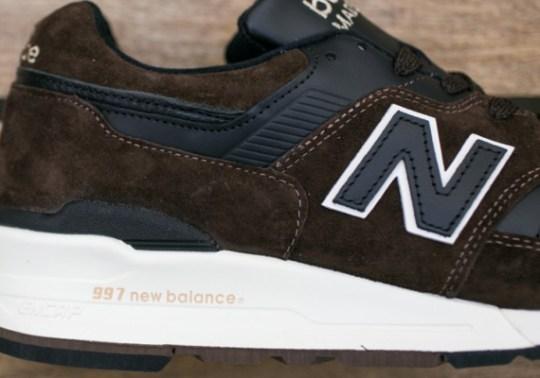 New Balance 997 – Brown – Black